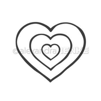 ALEXANDRA RENKE -Dies 'Frame heart'