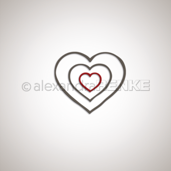 ALEXANDRA RENKE-Dies 'Frame heart'