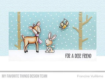 MY FAVORITE THINGS -Dashing Deer Die-namics
