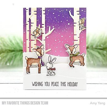 MY FAVORITE THINGS -Dashing Deer