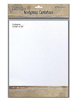"RANGER DISTRESS WOODGRAIN CARDSTOCK 8.5"" X 11"""