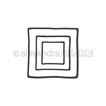 ALEXANDRA RENKE-Dies  Square frame