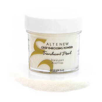 ALTENEW -Translucent Pearl Crisp Embossing Powder