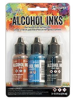 RANGER -Tim Holtz  Alcohol Ink Kit -Miner's Lantern