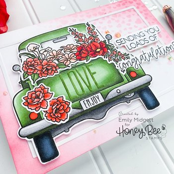 HONEY BEE STAMPS Loads Of Love | 6x6 Stamp Set