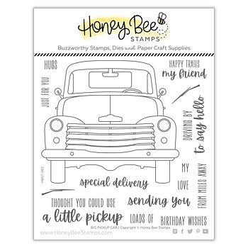 HONEY BEE STAMPS Big Pickup Cab | 6x6 Stamp Set
