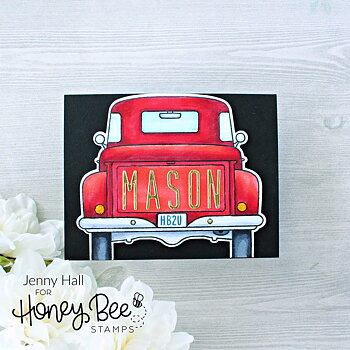 HONEY BEE STAMPS Big Pickup Tailgate | 6x6 Stamp Set
