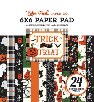 ECHO PARK PAPER-Trick or Treat 6x6 Inch Paper Pad