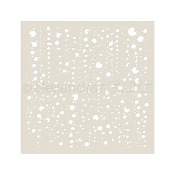 ALEXANDRA RENKE-Stencil 'Bubbles'