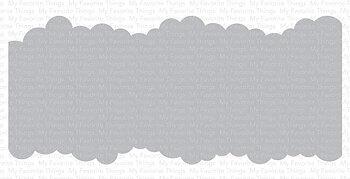 MY FAVORITE THINGS -Slimline Cloud Edges Stencil