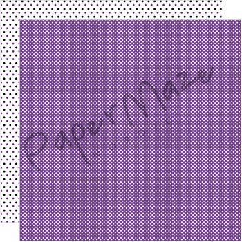 PAPERMAZE Purple Dottie