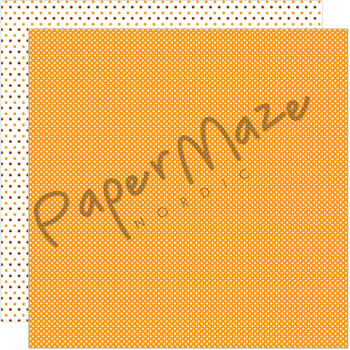 PAPERMAZE Orange Dottie