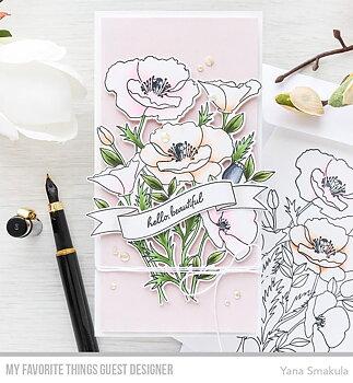 MY FAVORITE THINGS -Wild Poppies