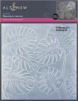ALTENEW -Monstera Leaves 3D Embossing Folder