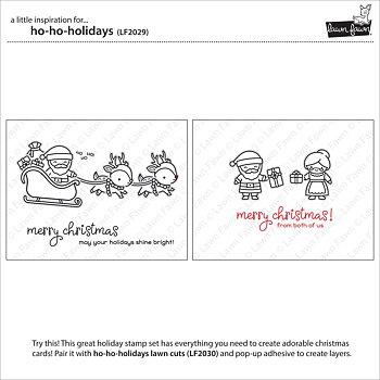 LAWN FAWN ho-ho-holidays