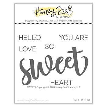 HONEY BEE STAMPS Sweet | 3x4 Stamp Set