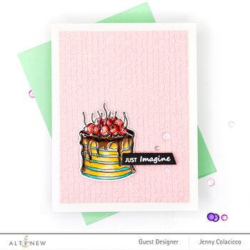 ALTENEW -Mini Crepe Cake Stamp Set