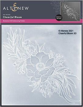 ALTENEW -Cheerful Bloom 3D Embossing Folder