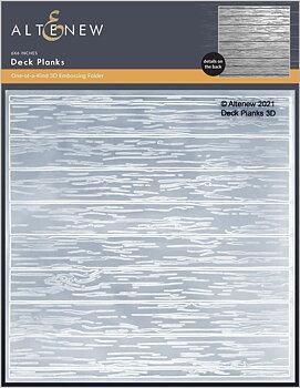 ALTENEW -Deck Planks 3D Embossing Folder