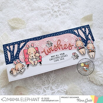 MAMA ELEPHANT-SLIM WOODLAND - CREATIVE CUTS