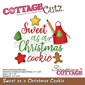 Scrapping Cottage Sweet as a Christmas Cookie