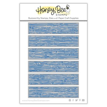 HONEY BEE STAMPS Barn Wood Planks | Honey Cuts