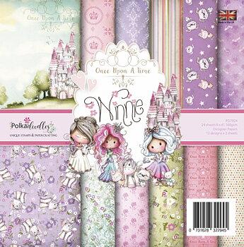 POLKADOODLES - Winnie Fairytale 6x6 Inch Paper Pack