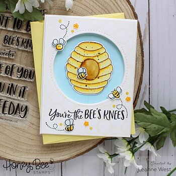 HONEY BEE STAMPS  -Hi Honey