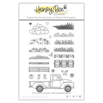 HONEY BEE STAMPS Little Pickup | 4x6 Stamp Set