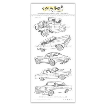 HONEY BEE STAMPS Car Show | 4x8 Stamp Set