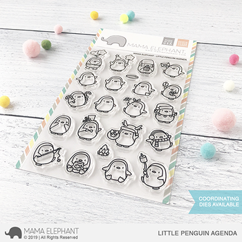 MAMA ELEPHANT-LITTLE PENGUIN AGENDA