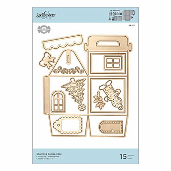 Spellbinders Charming Cottage Box Dies