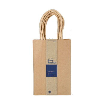 Papermania Bare Basics Small  Kraft Gift Bags