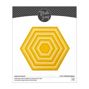 MODASCRAP    -DASHING HEXAGONS DIE