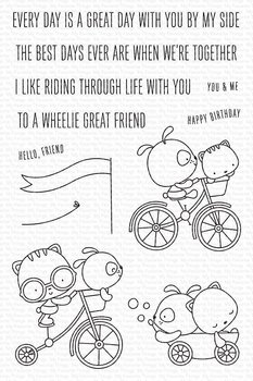 My Favorite Things -Wheelie Great Friend