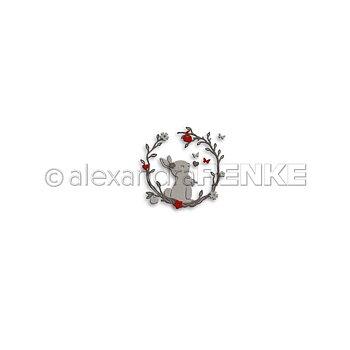 ALEXANDRA RENKE-Die 'Bunny in wreath'