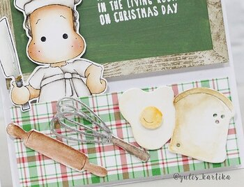 MAGNOLIA  RC-17 Beater and Rolling Pin & Egg and Bread dies