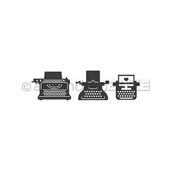 ALEXANDRA RENKE-Die 'Typewriter Set'