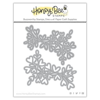 HONEY BEE STAMPS Lovely Layers: Heart Vine | Honey Cuts