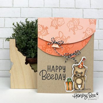 HONEY BEE STAMPS Balloon Card Borders | Honey Cuts