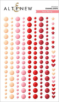 ALTENEW-Tea Party Enamel Dots