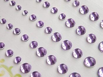 Memory Palette-  Sparkly Bubble Rhinestone-Light Purple