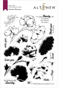 ALTENEW -Sweet Flowers Stamp Set