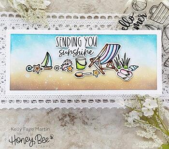 HONEY BEE STAMPS Hello Summer | 6x6 Stamp Set