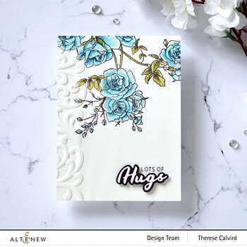 ALTENEW -Enchanted Roses Stamp Set