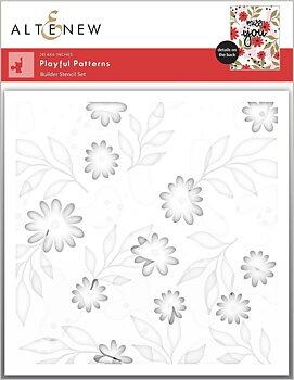 ALTENEW -Playful Patterns Stencil Set (4 in 1)
