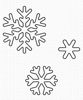 MY FAVORITE THINGS -Sweet Snowflakes Die-namics
