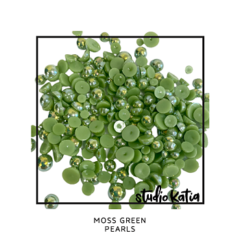 STUDIO KATIA-MOSS GREEN PEARLS
