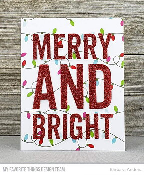 MY FAVORITE THINGS -Very Merry and Bright Die-namics