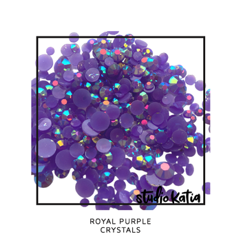 STUDIO KATIA-ROYAL PURPLE CRYSTALS